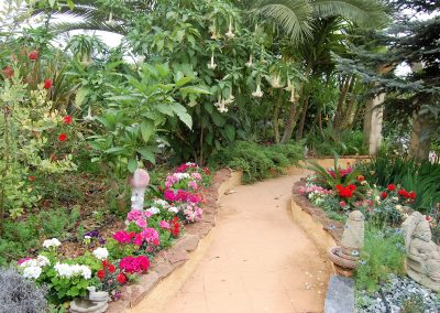 jardin at Las Orquideas